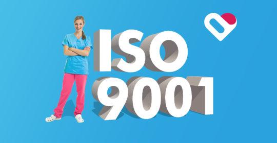 Certyfikat ISO 9001 dla NZOZ Nasze Zdrowie!