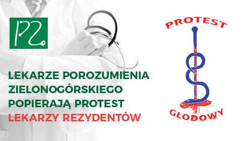 Wspieramy inicjatywę Porozumienia Rezydentów oraz Porozumienia Zawodów Medycznych