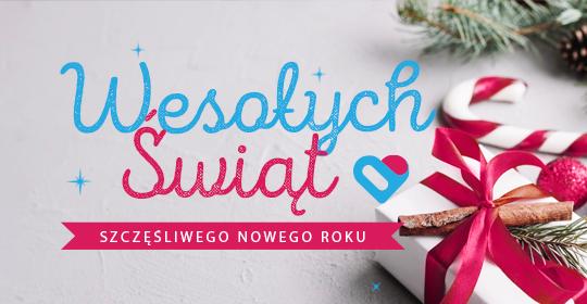 Wesołych Świąt życzy NZOZ Nasze Zdrowie