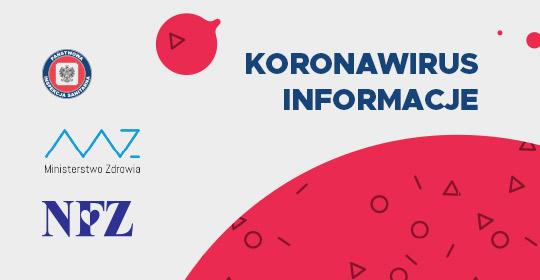 KORONAWIRUS/CORONAVIRUS/КОРОНАВІРУС  INFO!